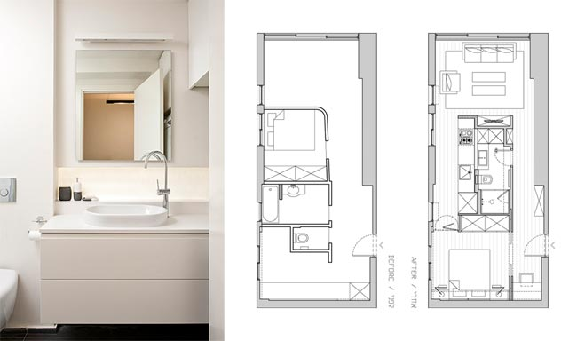 Comment decorer un appartement de 40m2 - Idee amenagement petit appartement ...