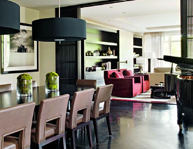 Appartement new yorkais par kelly hoppen - Muebles urban chic ...