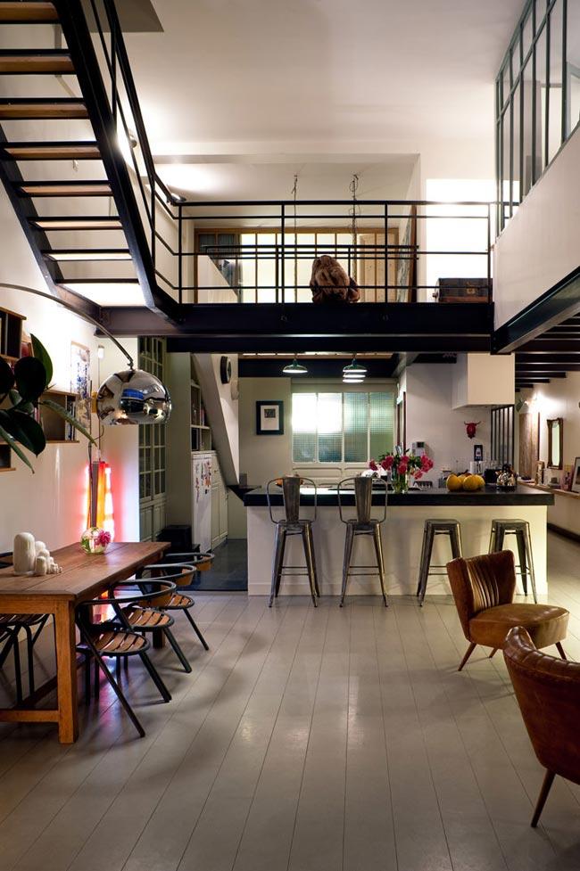 Loft vintage for Acheter un loft en region parisienne