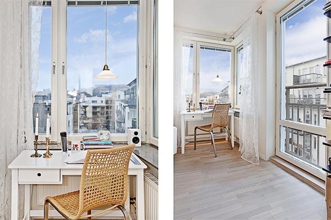 appartement scandinave. Black Bedroom Furniture Sets. Home Design Ideas