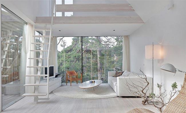 maison en bois suedoise grande maison en bois hlsingland drapeau sudois maison de campagne. Black Bedroom Furniture Sets. Home Design Ideas