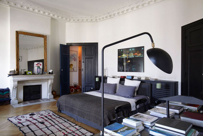 Un appartement parisien par sarah lavoine - Sarah lavoine decoration ...