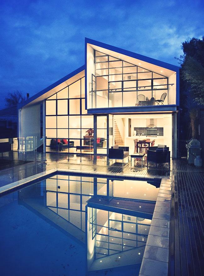Belle maison - Belle maison traditionnelle symmetry architecte ...