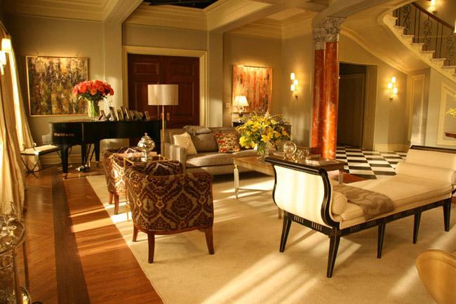 Here's the girls Appartement-de-Blair-Waldorf-Gossip-Girl-12