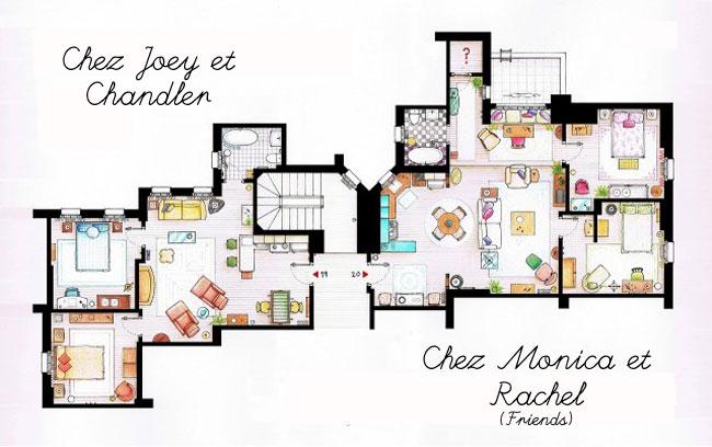 plan appartement barney