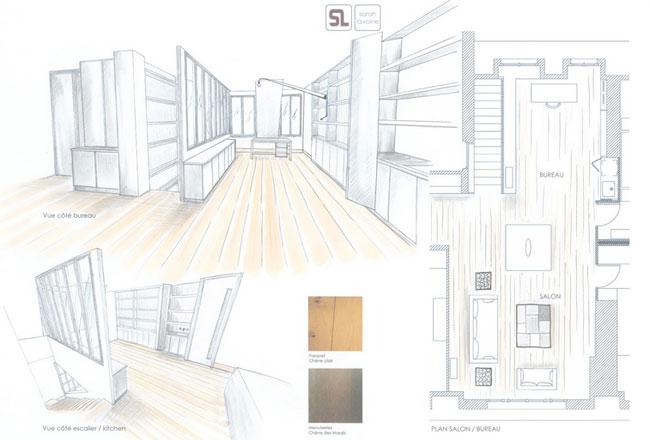 Duplex contemporain par Sarah Lavoine 16