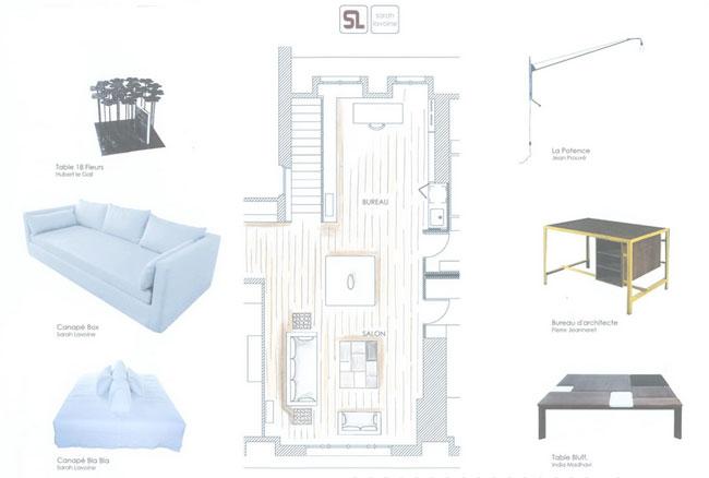 Duplex contemporain par Sarah Lavoine 17