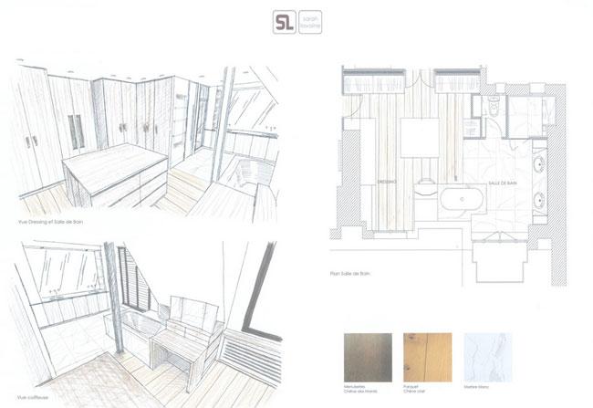 Duplex contemporain par Sarah Lavoine 18