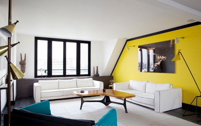 Un duplex contemporain par sarah lavoine for Sarah lavoine decoration