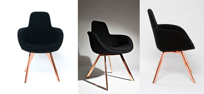 Fauteuil Scoop Tom Dixon