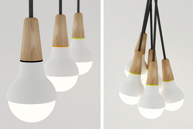 Suspensions scoop st phanie ng design for Suspension 3 lampes pour cuisine