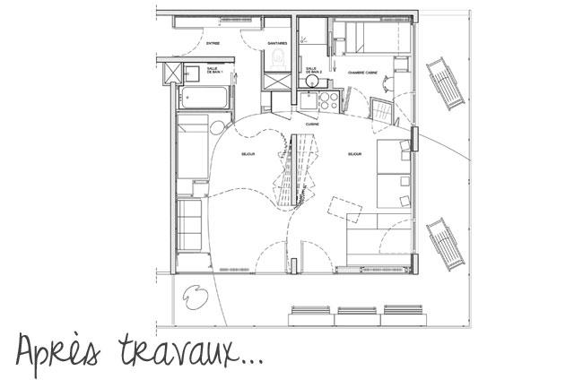 Appartement aux Menuires 10