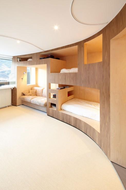 Un appartement aux menuires for Deco appartement hiver