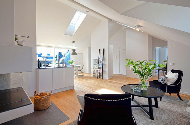 Grand appartement loft 3