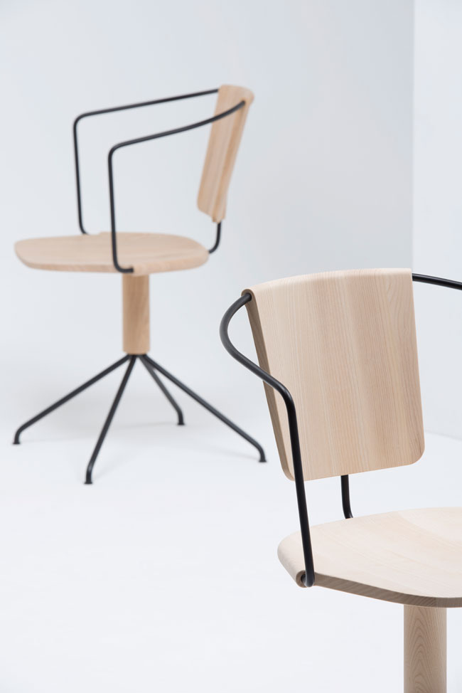 ma future chaise de bureau si uncino par les fr res bouroullec pour mattiazzi. Black Bedroom Furniture Sets. Home Design Ideas