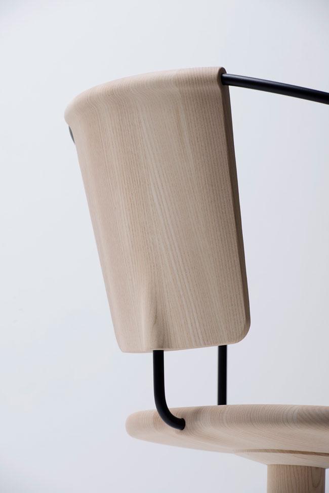 Chaise de bureau design Uncino par Bouroullec pour Mattiazzi 4