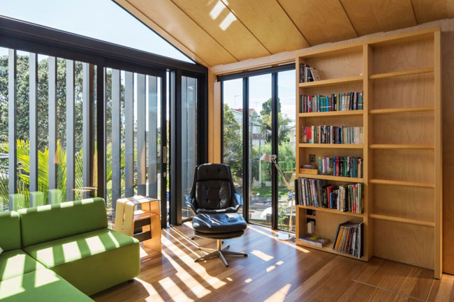 Maison design bibliotheque
