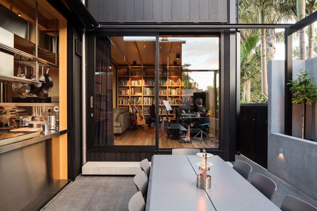 Maison design terrasse