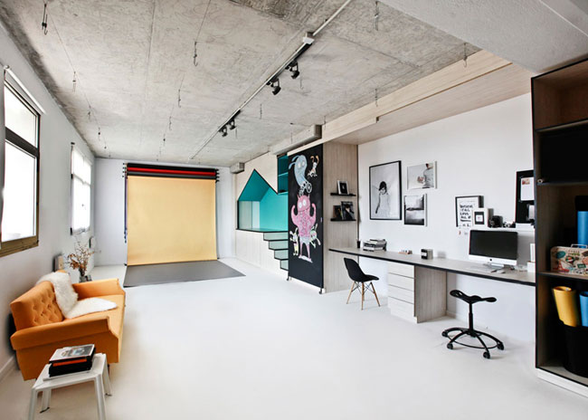 Un bureau avec un coin pour les enfants for Amenager un coin bureau