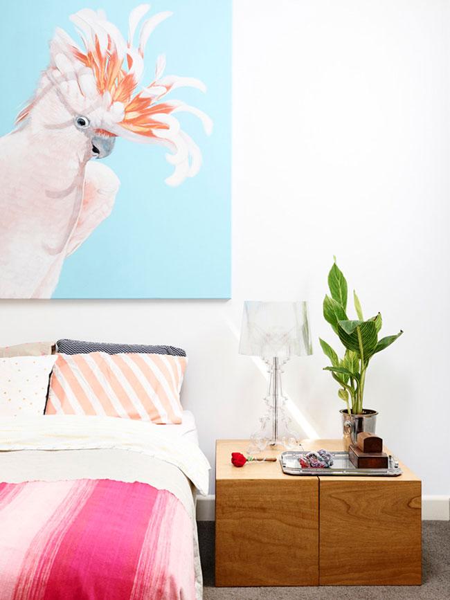 d corer sa maison avec de la couleur. Black Bedroom Furniture Sets. Home Design Ideas