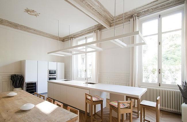 Appartement moderne avec passerelle paris - Interieur appartement parisien ...