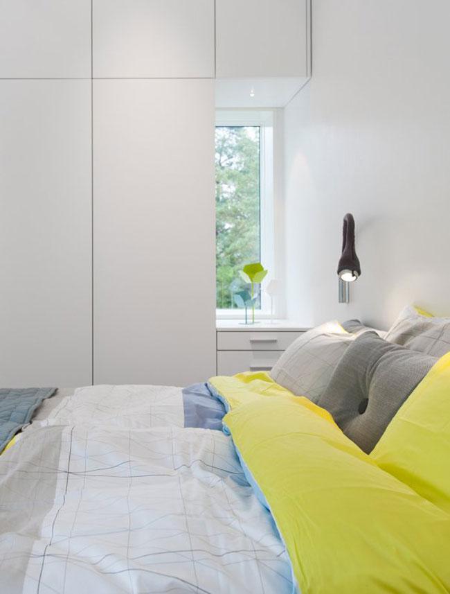 Maison design suedoise en noir et blanc 10