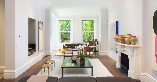 l 39 appartement de sarah jessica parker new york. Black Bedroom Furniture Sets. Home Design Ideas