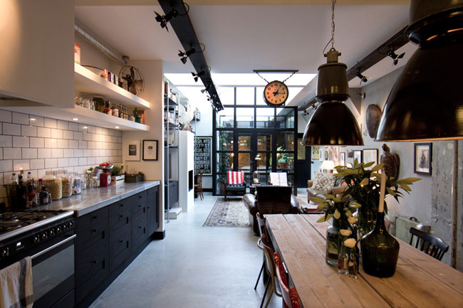 Loft industriel vintage - Decoration loft industriel ...