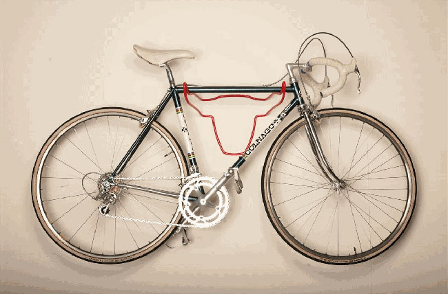 Porte velo mural design - Support velo appartement ...