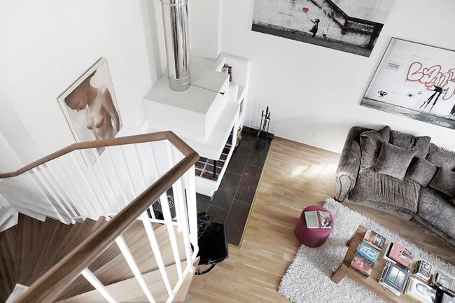 Appartement sous les combles for Appartement sous les combles