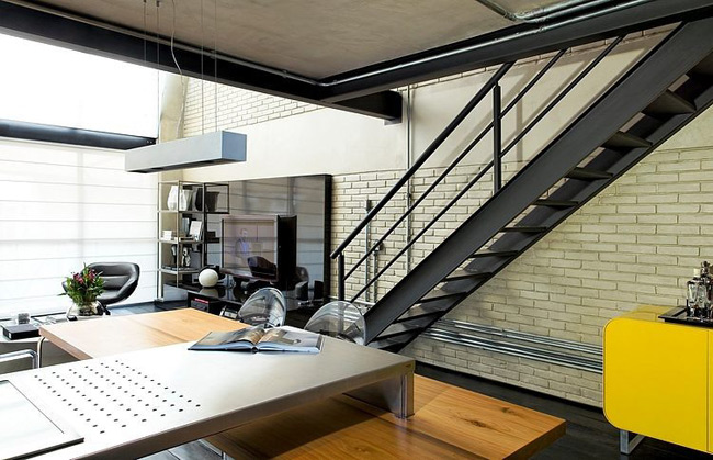 loft industriel sao paulo. Black Bedroom Furniture Sets. Home Design Ideas