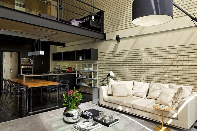 Loft industriel sao paulo for Decoration loft industriel