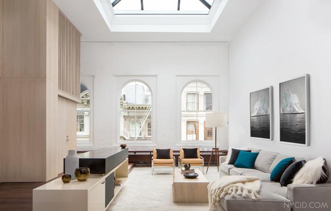 Living appartement new york soho