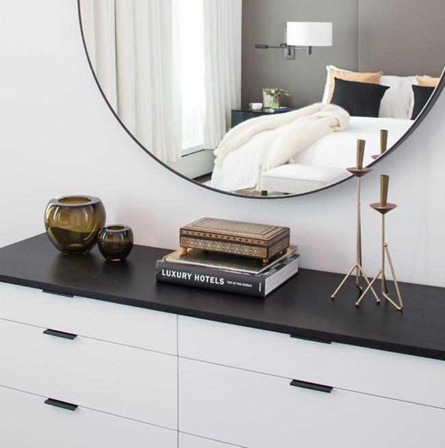 Miroir appartement new york soho