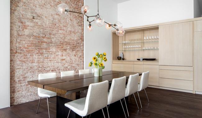 Salle a manger appartement new york soho
