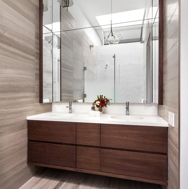 Salle de bain appartement new york soho
