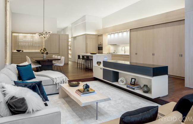 Salon appartement new york soho