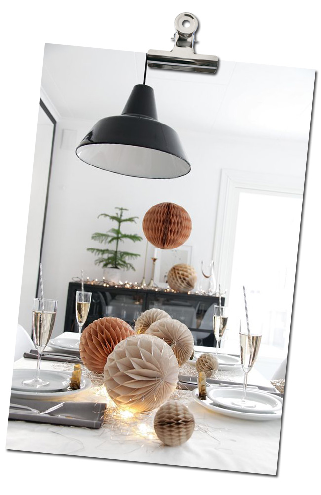 idee deco table de noel
