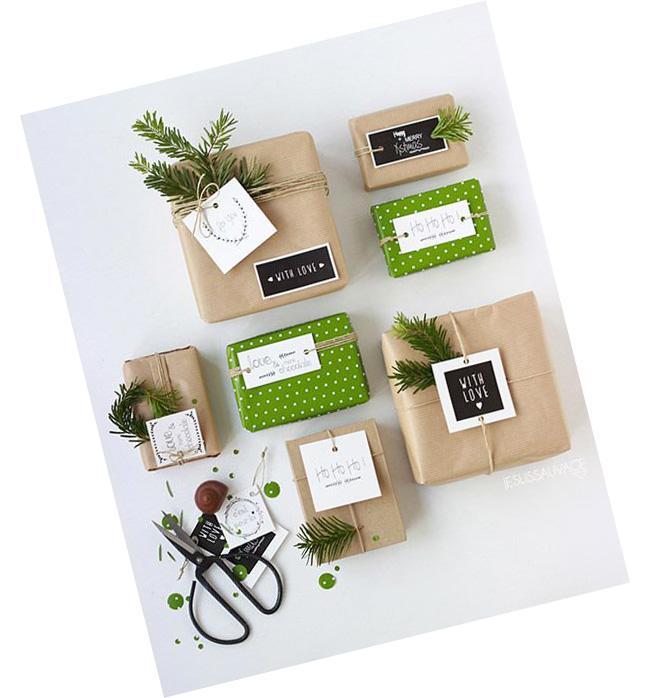idee paquets cadeaux noel