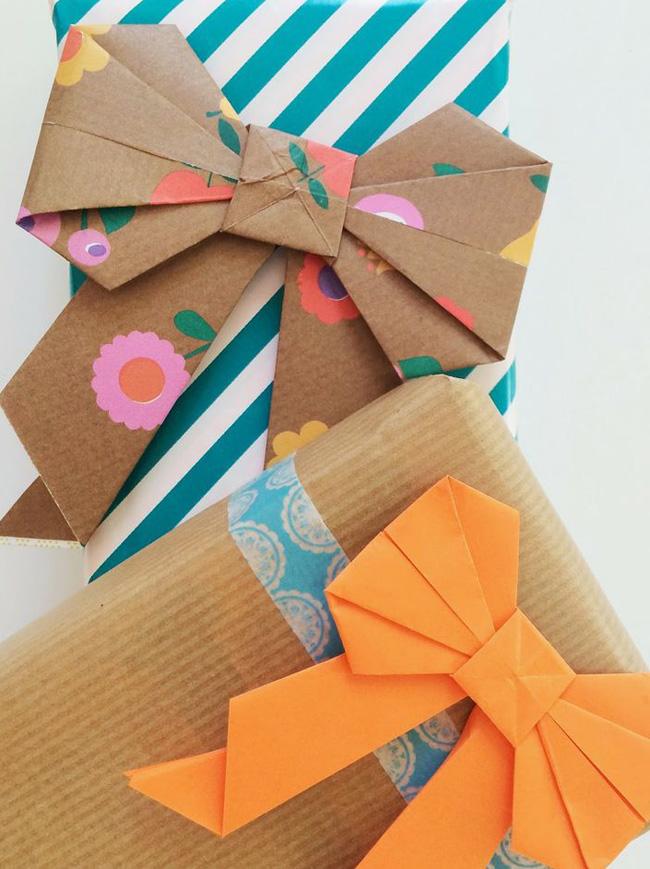 jolis paquets cadeau noel