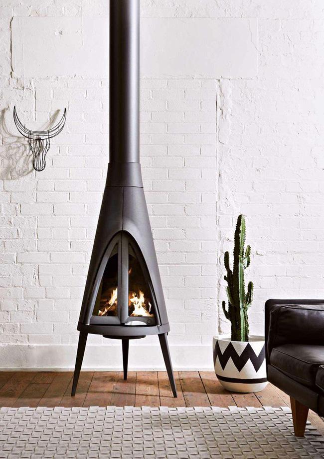 15 id es de chemin es ou po les bois. Black Bedroom Furniture Sets. Home Design Ideas