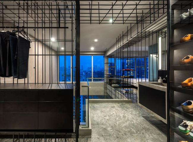 Appartement design rangement cage