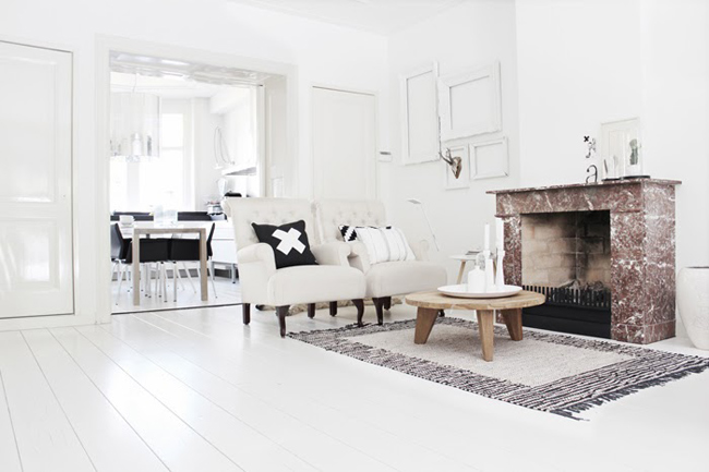 D coration monochrome scandinave - Decoration appartement scandinave ...