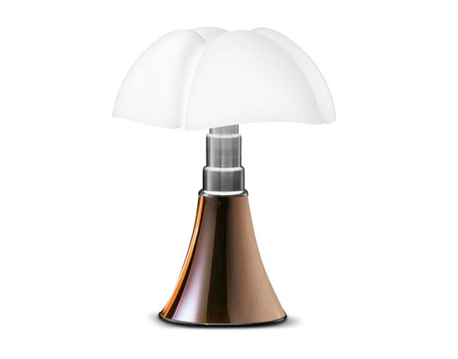 Lampe mini pipistrello cuivre