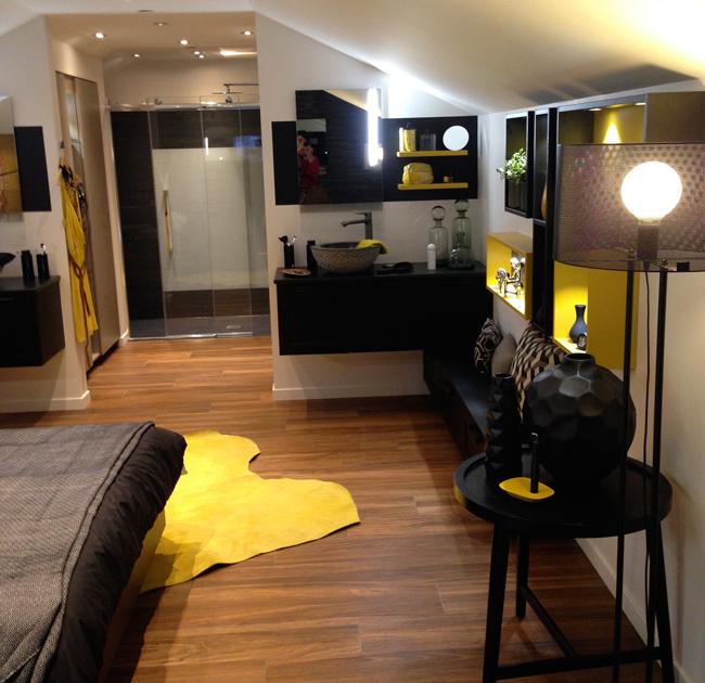 Showroom mobalpa salle de bain dans chambre for Salle de bain dans chambre