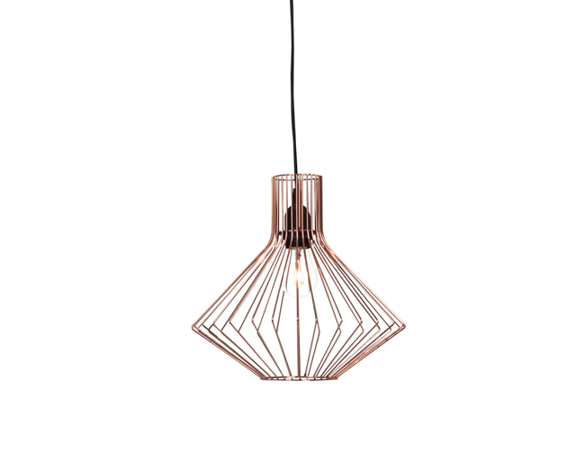 10 lampes design en cuivre - Suspension new york leroy merlin ...