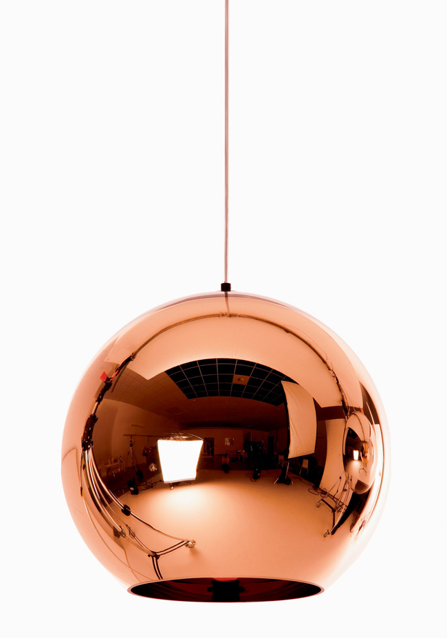 Suspension cuivre Tom Dixon