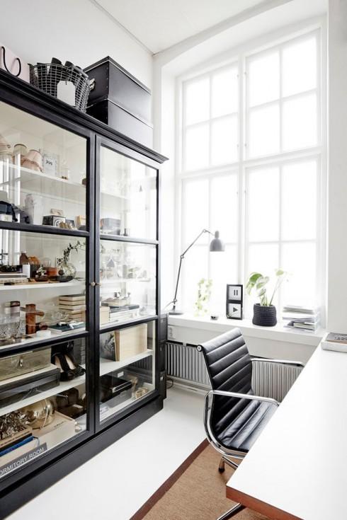 id es pour d corer un espace bureau. Black Bedroom Furniture Sets. Home Design Ideas