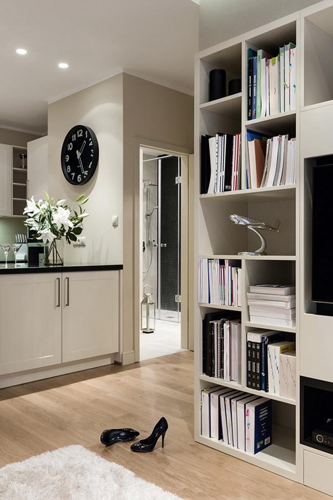 Appartement la d coration f minine et pur e for Decoration epuree salon