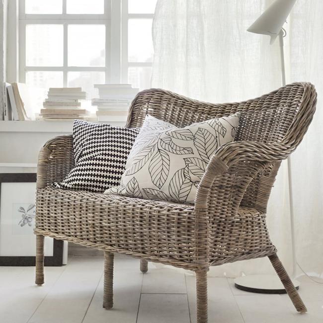 Collection ikea Nipprig fauteuil jardin